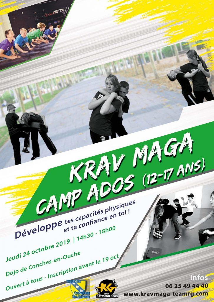 Camp Ado Krav Maga Team RG Flyer