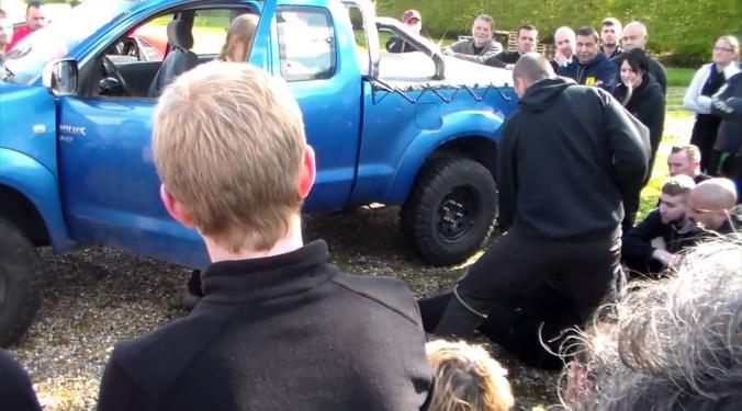 Stage car jacking krav maga Conches