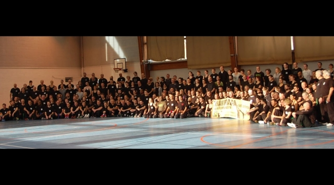 Stage Krav Maga Rouen - Gestion d'une menace - nov 2016