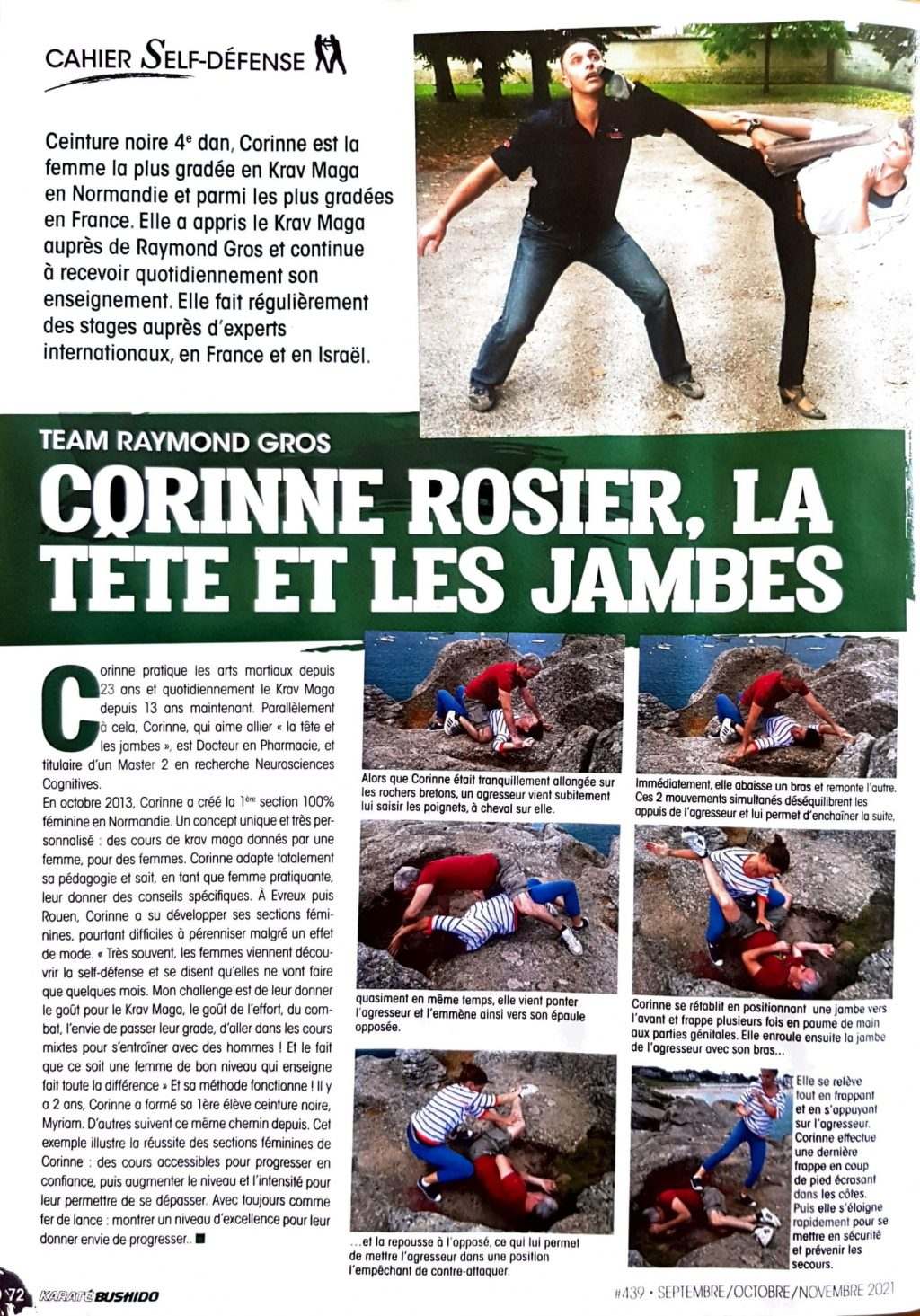 Corinne Rosier Bushido